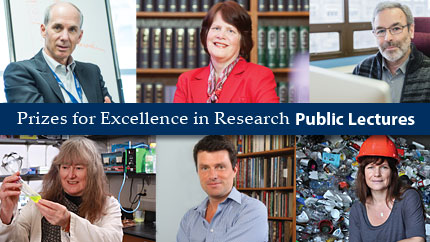 [recipients of the 2016 Prizes for Excellence in Research]