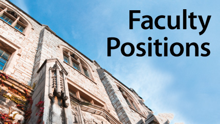 [Faculty Positions]
