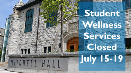 [Student Wellness Services moving to Mitchell Hall]