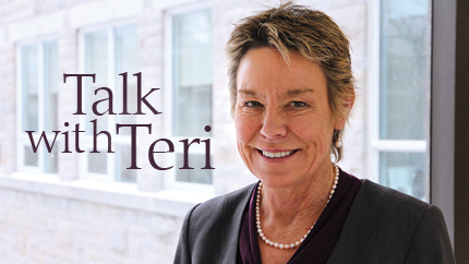[Talk with Teri]