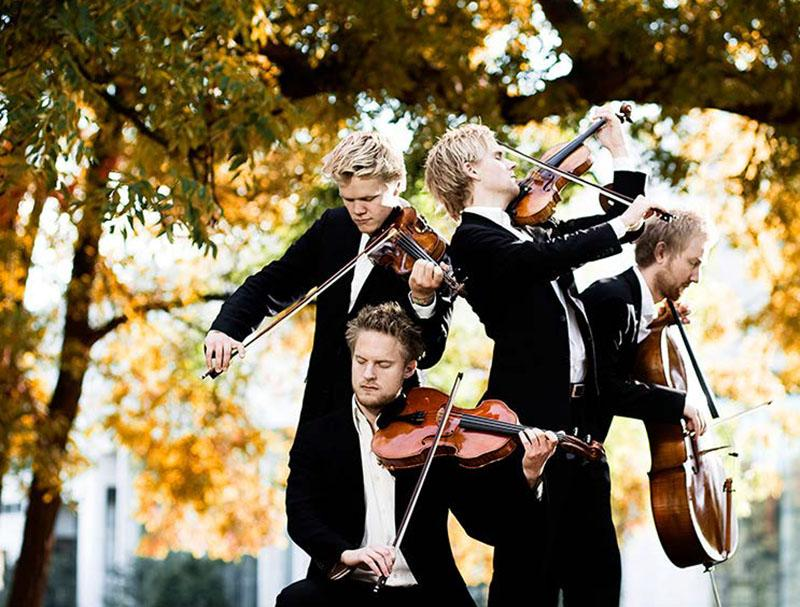 [Photo of the Danish String Quartet]