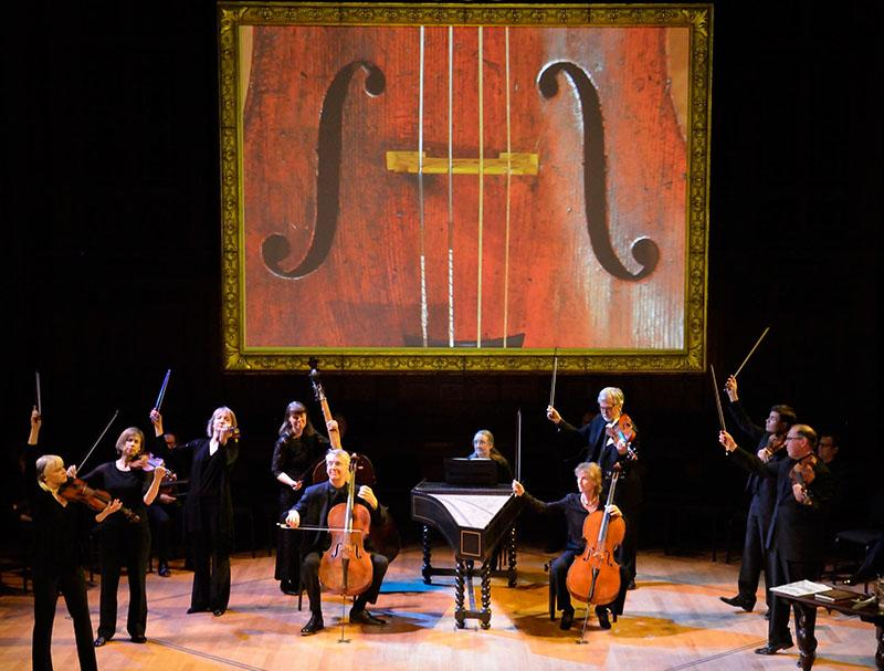 [Photo of Tafelmusik Baroque Orchestra in The Circle of Creation]
