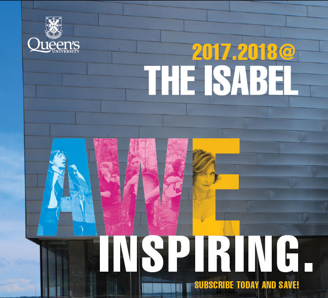 [Brochure cover for the 2017-18 Isabel Season]