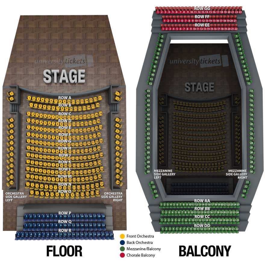 [seating plan graphic fo the performance hall]