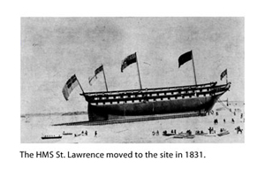 [Historical image 1831 - HMS St Lawrence]
